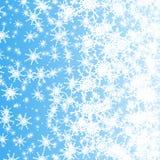 Fiocchi di neve bianchi Fotografia Stock Libera da Diritti