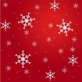 Fiocchi di neve casuali Immagini Stock Libere da Diritti