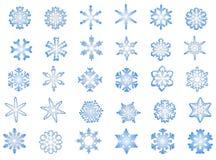 Fiocchi di neve classici #1 royalty illustrazione gratis