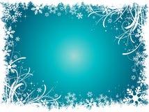 Fiocchi di neve decorativi Fotografie Stock