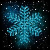 Fiocchi di neve di caduta su fondo trasparente royalty illustrazione gratis