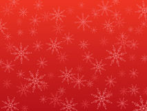 fiocchi di neve di natale della priorità bassa illustrazione vettoriale