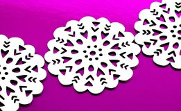 Fiocchi di neve di natale Immagini Stock Libere da Diritti
