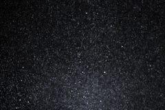 Fiocchi di neve sul cielo scuro Immagini Stock Libere da Diritti