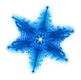 Fiocco della neve Fotografia Stock