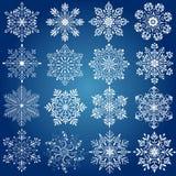Fiocco della neve Fotografie Stock