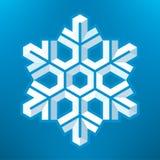 Fiocco di neve Immagini Stock Libere da Diritti