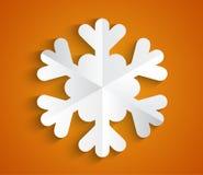 Fiocco di neve Fotografia Stock