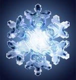 Fiocco di neve 4 illustrazione di stock