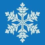 Fiocco di neve astratto Immagini Stock