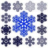 Fiocco di neve astratto decorativo Immagine Stock Libera da Diritti