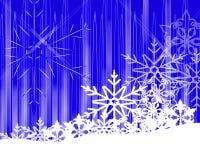Fiocco di neve bianco Immagine Stock
