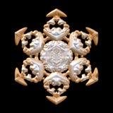 Fiocco di neve bronzeo royalty illustrazione gratis