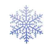 Fiocco di neve chiaro Fotografia Stock Libera da Diritti