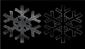 Fiocco di neve del ferro Fotografia Stock Libera da Diritti