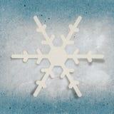Fiocco di neve di Applique royalty illustrazione gratis