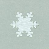 Fiocco di neve di Applique illustrazione di stock