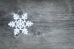 Fiocco di neve di Natale Fotografie Stock Libere da Diritti