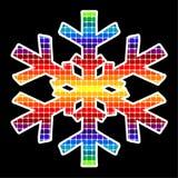 Fiocco di neve di vettore Immagini Stock