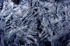 Fiocco di neve ghiacciato. Fotografie Stock Libere da Diritti