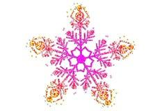 Fiocco di neve di natale immagini stock libere da diritti