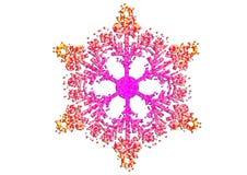 Fiocco di neve di natale fotografie stock