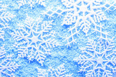 Fiocco di neve in neve Immagini Stock Libere da Diritti