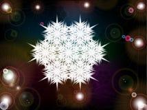 Fiocco di neve scintillante di Natale Royalty Illustrazione gratis