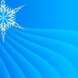 Fiocco di neve su un fondo di carta Fotografia Stock Libera da Diritti