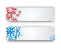 Fiocco di neve su un fondo di carta Fotografie Stock Libere da Diritti