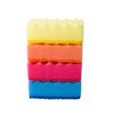 Fiocco multicolore di rafia Fotografia Stock Libera da Diritti