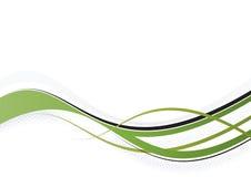 Fiocco verde Immagini Stock Libere da Diritti