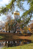 Fiodorovskiy Cathedral in Pushkin Stock Image