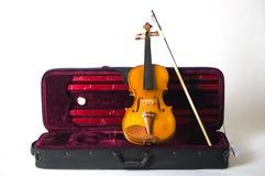 Fiol för möblemangbackroundmusikinstrument arkivbilder