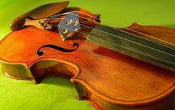 Fiol musikinstrument Arkivfoton