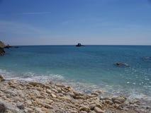 Fiolent-Bucht, Krim Stockbild