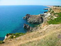 Fiolent cape, Crimea, Ukraine Royalty Free Stock Image