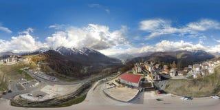 Fiolent crimeia Panorama ar de 360 graus Foto de Stock