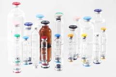 Fioles pharmaceutiques Photographie stock libre de droits