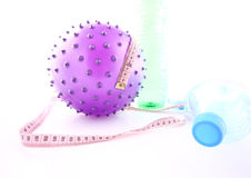Fiolet ball. Be beauty with violet ball Royalty Free Stock Photos