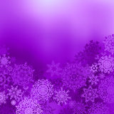 Fiolet color christmas background. EPS 8 vector file included Stock Photography