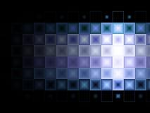 fioletowo - niebieska płytkich tło Obraz Royalty Free