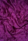 fioletowo - satin tło Zdjęcie Royalty Free