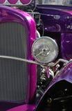 fioletowy pręt gorące zdjęcia stock