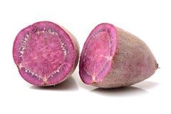 fioletowy słodki ziemniaczanej Zdjęcia Stock