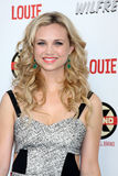 Fiona Gubelmann arrives at the FX Summer Comedies Party. LOS ANGELES - JUN 26:  Fiona Gubelmann arrives at the FX Summer Comedies Party at Lure on June 26, 2012 Stock Photography