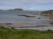 Fionnphort, ilha de ferventa com especiarias Fotografia de Stock Royalty Free