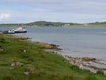 Fionnphort, ilha de ferventa com especiarias Imagem de Stock