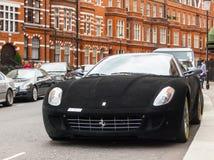 Fiorano del gtb del Ferrari 599 immagini stock libere da diritti