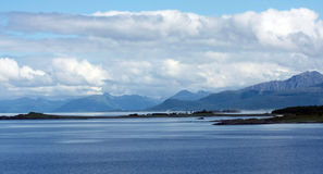 fiord Νορβηγία Στοκ Εικόνες